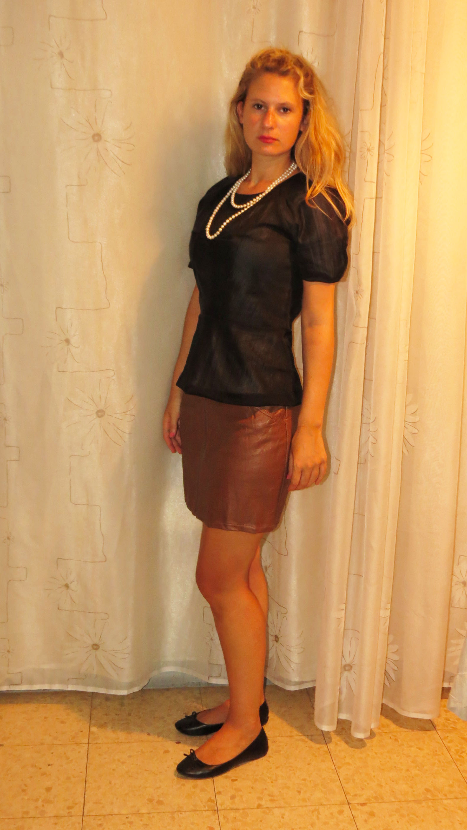 Sexy Mature In Skirt