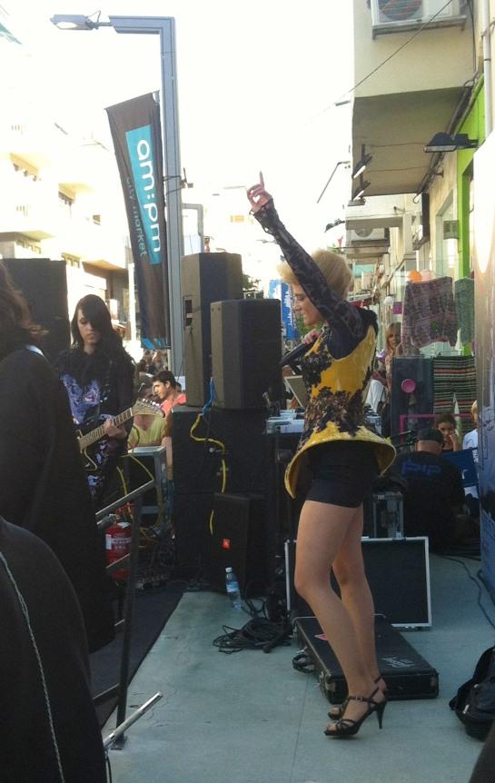 Rock star performance