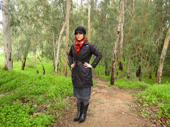 Vera's winter look