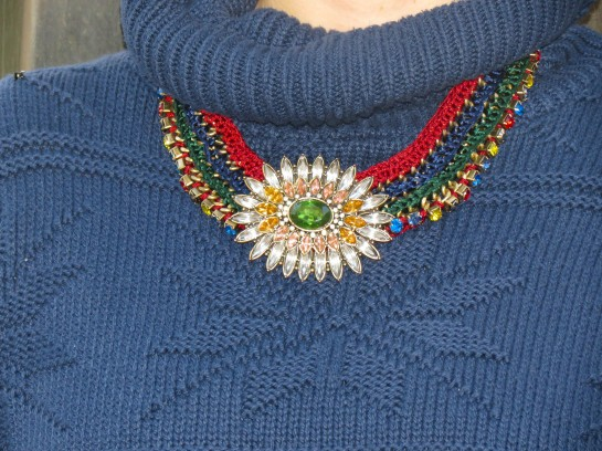 Multicolored necklace