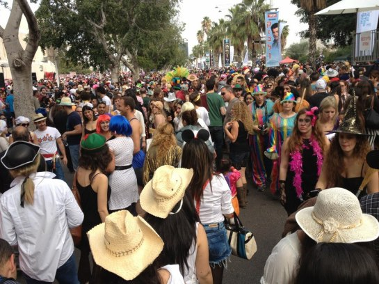 Tel Aviv Street Party