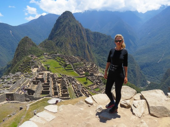 Rony at Machu Picchu