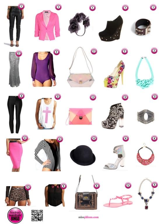 Boohoo Wardrobe Bingo with Phlossy Roxx